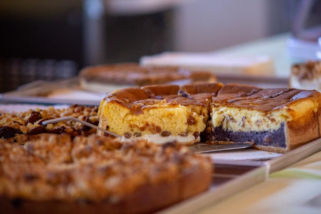 Rittergut Ilkendorf selbstgebackener Kuchen